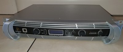 Behringer Inuke NU6000DSP power amplifier with DSP 2x2200W