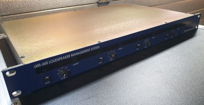 Turbosound LMS-660 2-in / 4-out speaker processor / crossover