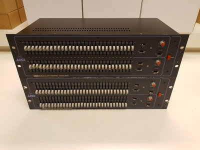 Apex GX-230 2x30 band graphic equalizer